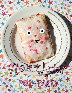 Now and later pop tarts
