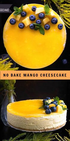 Fun Baking Recipes, Homemade Cake Recipes, Sweet Recipes, Mango Cheesecake, Cheesecake Recipes, No Bake Caramel Cheesecake, Mango Dessert Recipes, Indian Dessert Recipes, Mango Cake