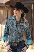 Cruel Girl Women's Western Willow Shirt