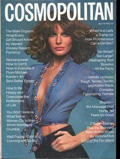 Cosmopolitan magazine, APRIL 1976 Model: Rene Russo Photographer: Francesco Scavullo