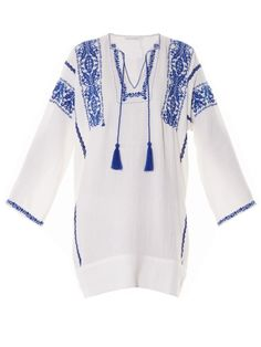 Isabel Marant Étoile Vinny embroidered dress