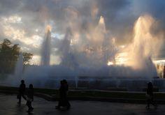 The Magic Fountain of Montjuic and the Palau Nacional, Barcelona