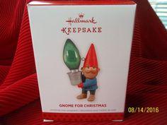 "Hallmark Keepsake Ornament 2013 ""Gnome For Christmas"" NIB | Collectibles, Decorative Collectibles, Decorative Collectible Brands | eBay!"