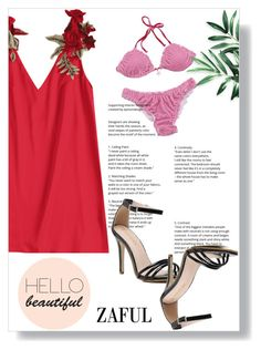 """Lady on the beach"" by melissa995 ❤ liked on Polyvore"
