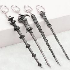 Film porte-clés fabricants gros Creative Harry Potter Hermione Dumbledore baguette magique Voldemort alliage porte-clés porte-clés