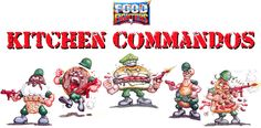 Food Fighters Kitchen Commandos