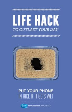 #LifeHack #HowTo #Rice #Phone