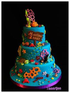 Taaartjes Finding Nemo Taart / Cake cakepins.com