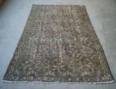 6'x9'6' Large Persian Rug Vintage 1920s Rug Genuine by RugToGo
