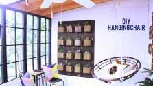 Make This Awesome Hanging Chair #DIY #Furniture