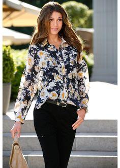 Bluzka Modna bluzka zdobiona nadrukiem • 74.99 zł • bonprix