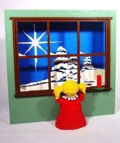 62 sculptures en LEGO grandioses et atypiques qui vont vous émerveiller | Daily Geek Show