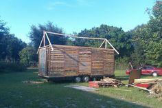 Mueblesdepalets.net: Construcción de casa con palets reciclados