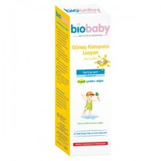 Biobay 50 SPF Güneş Koruyucu Losyon, bebeklerin hassas cildini güneşin zararlı etkilerinden korumaya yardımcı olur.