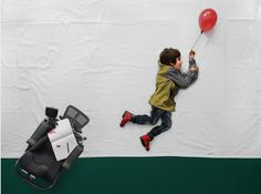 The Matej Peljhan photography series featuring her son is so creative, with a very inspiring backstory.