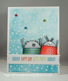 Hooray Happy Day! by pegmac71 - Cards and Paper Crafts at Splitcoaststampers