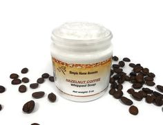 Hazelnut Coffee Whipped Soap Foaming Bath by SimpleHomeAccents