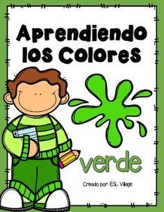 El Color Verde Spanish Colorscolor Of