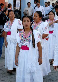 Oaxaca Zapotec Women Mexico