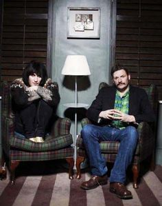 mighty boosh  Looove them, especially Vince :3