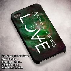 Angel & Airwaves Love - For iPhone 4/ 4S/ 5/ 5S/ 5SE/ 5C/ 6/ 6S/ 6 PLUS/ 6S PLUS/ 7/ 7 PLUS Case And Samsung Galaxy Case