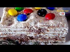 Pastel helado de chocolate envinado y galleta - receta muy fácil / Rony ...