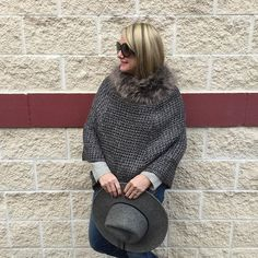Brrrrrrr!  Ready for Spring! How about you?! #sotrue #longwaytogo #frickspicks #therealgoldengirl #hatinhand #grey #shadesofgrey #marshalls #realoutfitgram