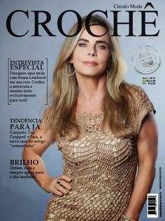 Crochetemoda: Bruna Lombardi - Revista Círculo Moda Crochê