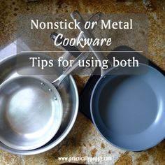 THis is SUPER helpful!  I just bought stainless steel cookware and I needed these tips!