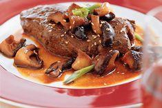 japanese steak - so good Asian Dinner Recipes, Asian Recipes, Beef Recipes, Cooking Recipes, Japanese Steak, Japanese Sushi, Asian Kitchen, Japanese Kitchen, Meat Lovers