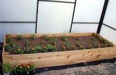 #DIY raised garden bed