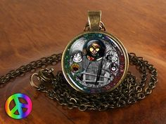 Creepypasta Creepy Pasta Ticci Toby Slenderman Jeff Killer Necklace Jewelry Gift