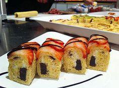Little Debbie dessert sushi - Cosmic Strawberry Roll
