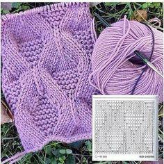 Knitting texture pattern 27 Ideas for 2019 Knitting Stiches, Cable Knitting, Knitting Charts, Knitting Patterns Free, Knit Patterns, Free Knitting, Crochet Stitches, Stitch Patterns, Knit Crochet