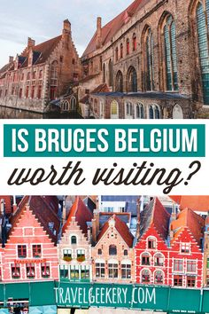 Is Bruges worth visiting at all? With the tourist crowds it receives, Bruges Belgium is so much on the beaten path that visiting it can turn into a disappointment. Read whether you should visit Bruges. I'll recommend you still do, but spend more time in Ghent! Both Ghent or Bruges are beautiful places to travel to, no matter if in summer or fall. While Bruges is good for a day trip, you can spend days in Ghent and still have plenty to do. Click to read more. #bruges #belgium #ghent #europe European Travel Tips, Europe Travel Guide, European Destination, Backpacking Europe, Travel Guides, Outfits Winter, Outfits Spring, Cool Places To Visit, Places To Travel