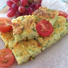 This zucchini slice is so easy to make and very tasty. It is perfect for a picnic or kids' lunch box.