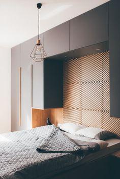 Czarne meble w sypialni