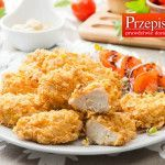 PIECZONE NUGETSY Z KURCZAKA Polish Recipes, Polish Food, Kfc, Poultry, Spices, Food And Drink, Chicken, Cooking, Gastronomia