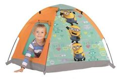 RZOnlinehandel - Zelt Iglu Minions 74104 Minions, Outdoor Gear, Tent, Minnie Mouse, Toddler Bed, Decor, Outdoor Camping, Paper Board, Child Bed