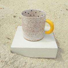 Rubber Dipped Polka Dot Mug by Recreation Centre