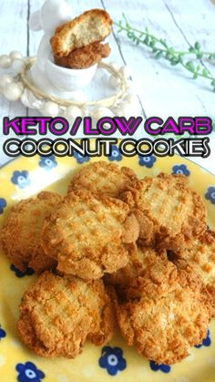 COCONUT COOKIES – Keto, Low Carb, Paleo, Gluten Free, Nut Free, Sugar Free I just love the toasted coconut flavor of these cookies! You may find these cookies not sweet enough when you…