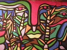 Muralismo chileno Cool Toys, Art Lessons, Fashion Art, Cool Art, Street Art, Mosaic, Graphic Design, Cool Stuff, Ideas Para