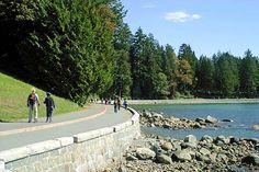 Stanley Park walkway- Vancouver, BC