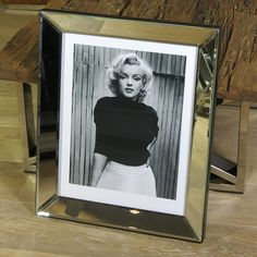 Wandbild Marilyn Monroe Haus in Hollywood  1953