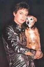 Julian & Fanny the wonder dog x
