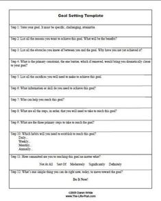 Worksheet A useful goal setting worksheet to help you gain clarity and take action.A useful goal setting worksheet to help you gain clarity and take action. Coping Skills, Social Skills, Life Skills, Goals Worksheet, Goal Setting Worksheet, Goal Setting Activities, Therapy Worksheets, Therapy Activities, Counseling Activities