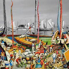 Ilustrações do livro Carybé e Verger - Gente da Bahia.,,,,,,,,Elfi Kürten Fenske: Carybé (Hector Julio Páride Bernabó) - A arte e a paixão pela Bahia