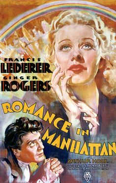 Romance in Manhattan, with Ginger Rogers and Francis Lederer