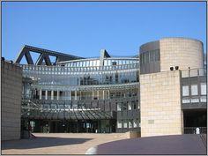 Das Landtagsgebäude von Nordrhein-Westfalen