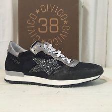 Sneakers Civico 38 Primavera-Estate Scarpe Way Donna Taglia 40 Made In Italy   eBay